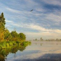 Утро на озере :: Валентин Котляров