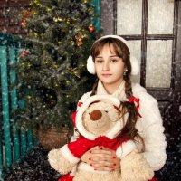 Новогодняя открытка :: Марина Ионова