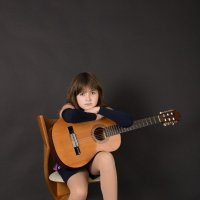 Девочка и гитара :: Елена Федорова