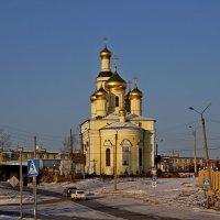 Церковь на Нижнем Кыштыме :: Михаил Сбойчаков