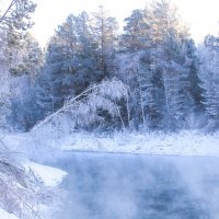 Ледяное озеро :: Юлия Вяткина