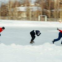 Полет на коньках :: Роман Лаврентьев