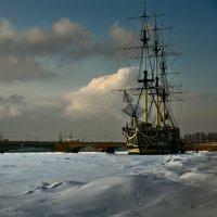 зима на Неве :: ник. петрович земцов