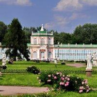 Оранжерея в парке Кусково,  или воспоминания о лете :: Марина Волкова