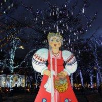 В новогодней Москве. :: Елена
