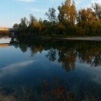 Река осенью 2 :: оксана