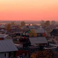 Розовой закат :: Татьяна Голосова