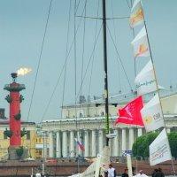 Прибытие океанской регаты 5 :: Цветков Виктор Васильевич