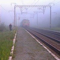 Утреняя электричка. Сентябрь 2012 г. :: Саша Коломийчук