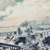 Блокадный Ленинград (фрагмент диорамы) :: Владимир Болдырев