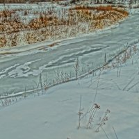речка Мера, вот с таких Волга становится полноводней :: Михаил Жуковский