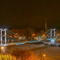 Пешеходный мост через Урал :: Elena Izotova