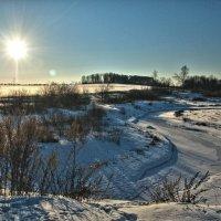 Зимняя река :: Андрей Куприянов