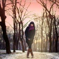 Зимний рассвет :: Анна Сулоева