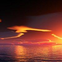 Рассплавленное небо :: Анатолий Симонов
