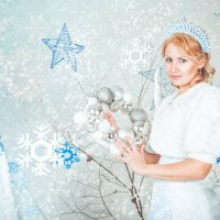 Расскажи Снегурочка, где была... :: Мария Дергунова