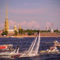 Водные развлечения. :: Сергей Исаенко