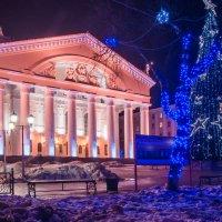 Праздник кончился, театр остался.Калуга, областной драматический театр. :: Алексей Кошелев