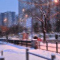 За зимой метель вдогонку :: Ирина Данилова