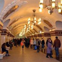 Станция метро Киевская :: Владимир Болдырев