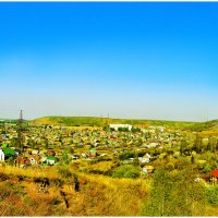 Красноярск с холма :: Ольга Степанова