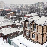 Снег идет... :: Александр Гапоненко
