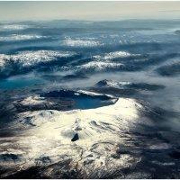 Где-то над Арменией! Высота 10 500 метров. :: Александр Вивчарик