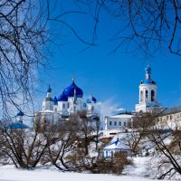 Боголю́бский монасты́рь Рожде́ства Богоро́дицы :: Валентин Раев