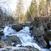 Поздняя осень на горной речке :: Владимир Бедак