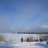 В один из зимних солнечных дней . Сибирь . :: Мила Бовкун