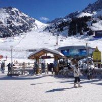 Чимбулак — популярный горнолыжный курорт в Казахстане. :: Anna Gornostayeva