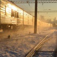 Поезд :: Ирина Кузина