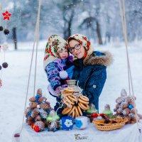 Две Аленушки без шоколадки :: Светлана Бурман
