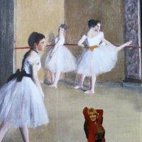 Балерины Дега и дама :: Вера Моисеева