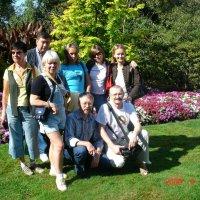 Вся наша команда в парке Элизабет. :: Владимир Смольников