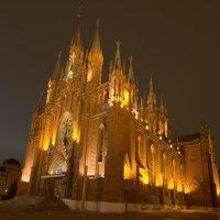 Римско-католический кафедральный собор в Москве :: Денис Кузнецов