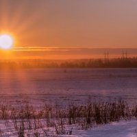 Зимний закат :: Aнна Зарубина