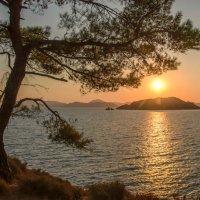 Закат над морем :: Любовь Потеряхина