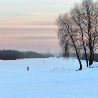 Зимние закаты и лыжные прогулки :: Евгений Никифоров