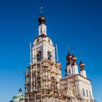 Реставрация Введенской церкви. Плёс. :: Яков Реймер