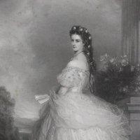 Портрет Елизаветы Австрийской (печальной  императрицы  Сиси) :: Vladimir 070549