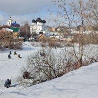 На пруду у монастыря :: Валентин Котляров