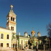 Церковь Николая Чудотворца на Рогожском кладбище. :: Александр Качалин
