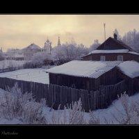 Морозное утро в Угличе. :: Дмитрий Постников