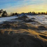 Замерший песок :: Алёна Дягелева