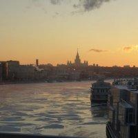 прохладный закат :: ВаНя Бобинов