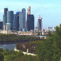 Панорама Москвы :: Борис Соловьев