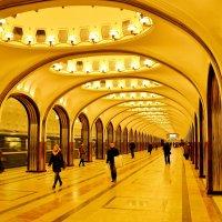 Станция метро Маяковская :: Владимир Болдырев