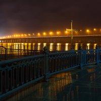 Огни ночного Днепропетровска :: Denis Aksenov