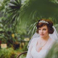 Портрет невесты в оранжерее Таврического сада :: Валерий Фролов